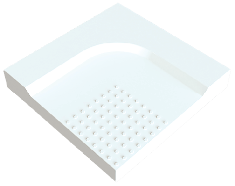 SENSTEC Shower Tray Sample