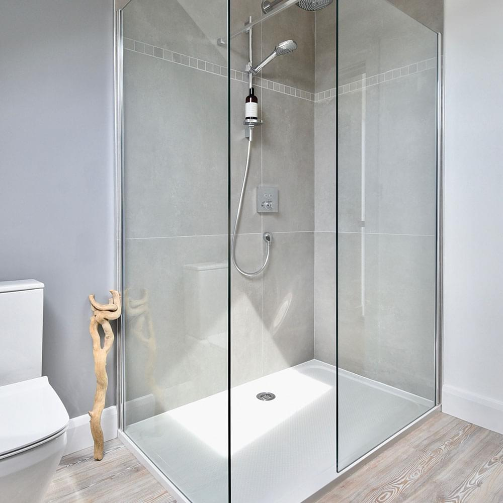 Rectangle Fitted Shower Tray