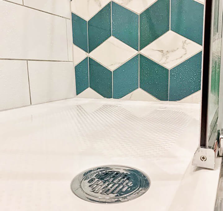 Shower Tray Fitted